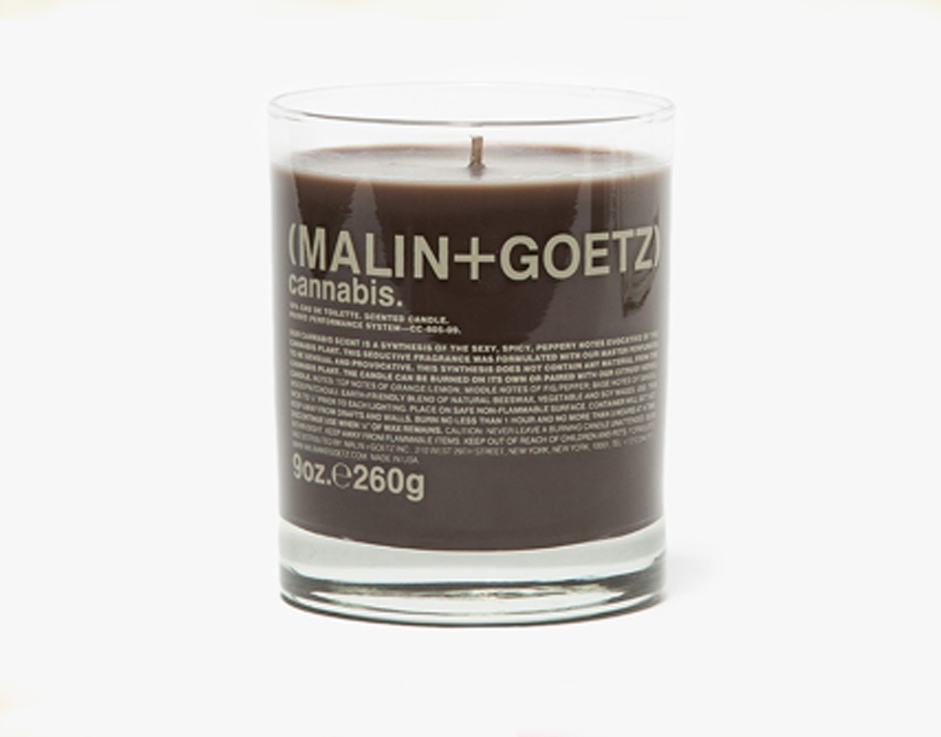 malin goetz cannabis candle the new smoker. Black Bedroom Furniture Sets. Home Design Ideas